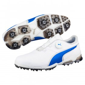 Puma Golf Mens Waterproof TitanTour Ignite Disc Golf Shoes