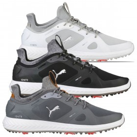 Puma Golf Mens 2019 Ignite PWRadapt Leather Golf Shoes