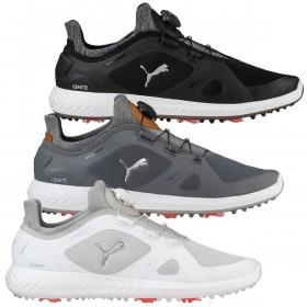 Puma Golf Mens Ignite PWRadapt Disc Waterproof Golf Shoes