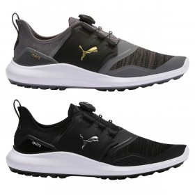 Puma Golf Mens Ignite NXT Disc PWRFrame Disc System Waterproof Golf Shoes