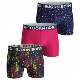 Bjorn Borg Mens Energy Leo & Tiger 3 Pack Boxers