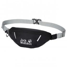 Jack Wolfskin Unisex Cross Run Zip Reflective Detail Waist Bag