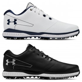 Under Armour Mens 2019 UA Fade RST 2 E Spikeless/Spiked Hybrid Golf Shoes