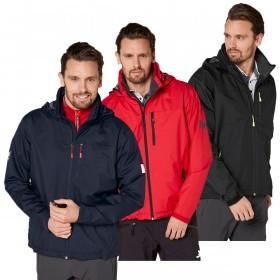 Helly Hansen 2021 Mens Crew Hooded Waterproof Windproof Jacket