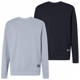 Oakley Mens 2020 Patch Fleece Crewneck Long Sleeve Sweater