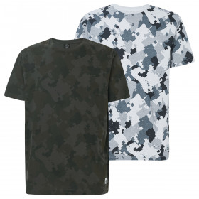 Oakley Mens 2020 Cadpat Camo Short Sleeve Lightweight T-Shirt