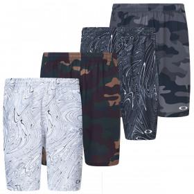 Oakley Mens Enhance Graphic 10.0 Moisture Wicking Shorts
