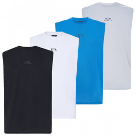 Oakley Mens Foundational Training Wicking Stretch Breathable Tank Top Vest