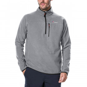 Berghaus Mens Stainton Half Zip Fleece Warm Durable Stretch Sweater