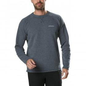 Berghaus Mens Caldey Crew Neck Fleece Lightweight Warm Sweater