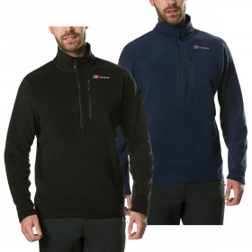 Berghaus Mens Prism Micro Polartec Half Zip Warm Fleece Durable Sweater