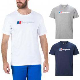 Berghaus Mens Big Corporate Logo Cotton Tee T-Shirt