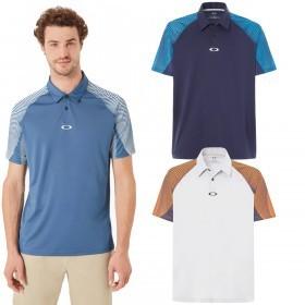 Oakley Golf Mens Aero Motion Sleeve Polo Shirt
