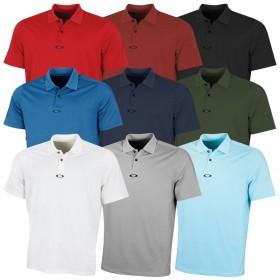 Oakley Mens Ergonomic Stretch Lightweight Golf Polo Shirt