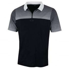 Oakley Mens SS Sublimated Jacquard Lightweight Golf Polo Shirt