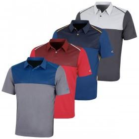 Oakley Mens Bicolor Block SS Golf Polo