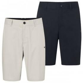 Oakley Mens 2021 Chino Icon Golf Cotton Blend Stretch Shorts