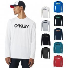 Oakley Mens  Mark II LS Crew Neck Regular Fit T-Shirt