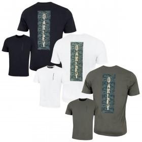 Oakley Mens SS Hidden Vertical Camou T-Shirt