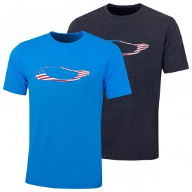 Oakley Mens 2019 Ellipse USA T-Shirt