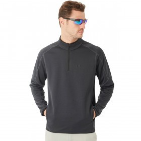 Oakley Mens Prime 1/4 Zip Stretch O-Hydrolix Cool Fleece