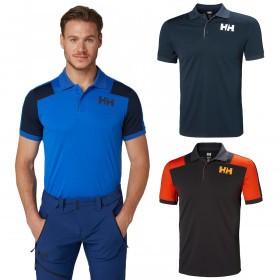 Helly Hansen Mens HH Lifa Active Light SS Polo Shirt