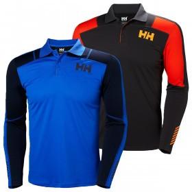 Helly Hansen Mens HH Lifa Active Light LS Polo Shirt