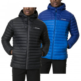 Berghaus Mens Vaskye Insulated Lightweight Hooded Hydroloft Jacket