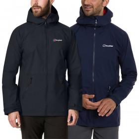 Berghaus Mens 2021 Deluge Pro 2.0 Waterproof Hydroshell Adjustable Jacket