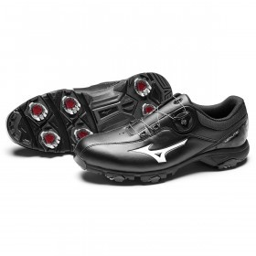 Mizuno Mens Nexlite Boa 005 Waterproof Leather Golf Shoes
