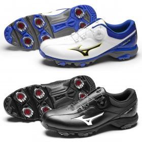 Mizuno Mens 2019 Nextlie Boa 005 Lightweight Waterproof Golf Shoes