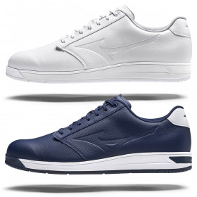 Mizuno Mens 2021 G-Style Soft Touch Kuraray Upper Fully Waterproof Golf Shoes