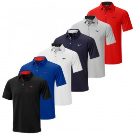 Mizuno Mens 2019 Quick Dry Golf Polo Shirt