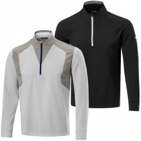 Mizuno Golf Mens Windproof 1/4 Zip Pullover