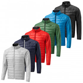 Mizuno Mens Golf Move Tech Thermal Breathable Stretch Full Zip Padded Jacket
