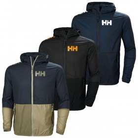 Helly Hansen Mens Active Windbreaker Hood Lightweight Ripstop Jacket