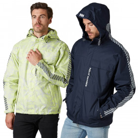 Helly Hansen Mens Vector Waterproof Breathable Packable Rain Jacket