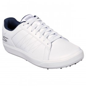 Skechers Mens Go Golf Drive 4 Cusion Sole Light Leather Golf Shoes