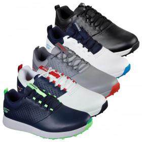 Skechers Mens 2021 Elite 4 Spikeless Waterproof Leather Upper Golf Shoes