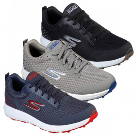 Skechers Mens 2021 Max - Fairway 2 Spikeless Mesh Water Resistant Golf Shoes
