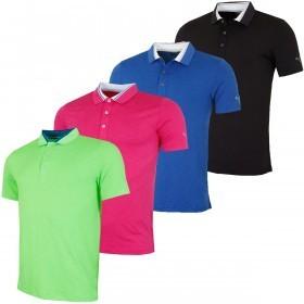 Puma Golf Mens Tailored Tipped Golf Polo Shirt