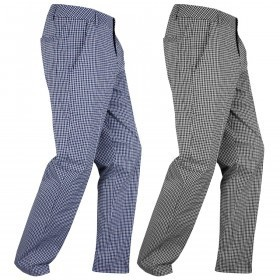Puma Golf Mens Plaid Tech Pant Trousers