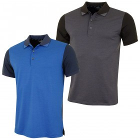Puma Golf Mens Tailored Rib DryCELL Performance Polo Shirt