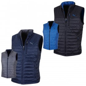 Puma Golf Mens PwrWarm warmCELL High Warmth Reversible Vest Gilet