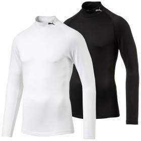 Puma Golf Mens Mock Neck Warm Baselayer
