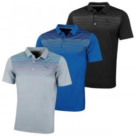 Puma Golf Mens Sportstyle Road Map UV Resistant Polo Shirt