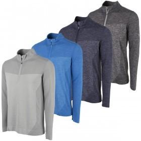 Puma Golf Mens Evoknit Seamless 1/4 Zip Pullover