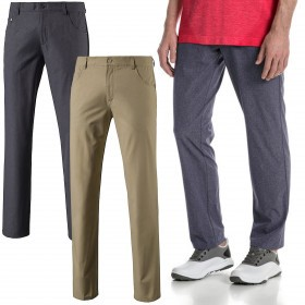 Puma Golf Mens Heather 6 Pocket Pant Trousers