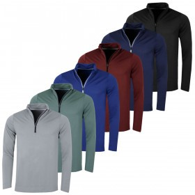 Puma Golf Mens Essential Evoknit 1/4 Zip Lightweight Sweater
