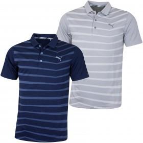 Puma Golf Mens 2019 3D Knit Prismatic Polo Shirt